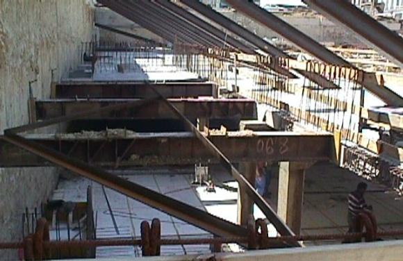 Baugrubensicherung Columbus Center und Garage - Wien