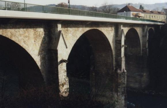 Ybbsbrücke in Kematen - Niederösterreich