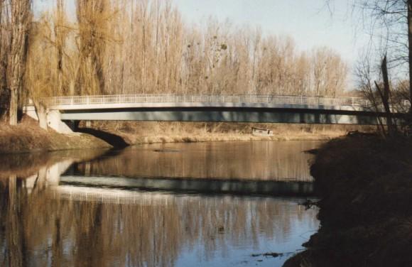 Zainethbrücke über die Schwechat